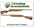 Browning A5 Light 12 70 Belgium 28in VR Modified