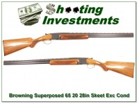 [SOLD] Browning Superposed Lightning 20 65 Belgium Exc Cond!