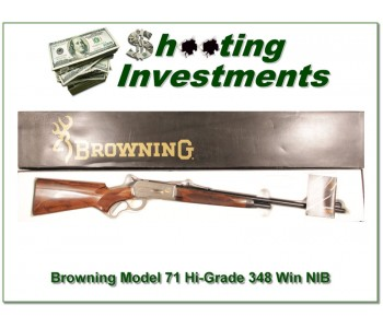 [SOLD] Browning Model 71 Rifle High Grade 348 Win new in box