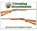 [SOLD] Browning 22 Auto 66 Belgium XX Wood!