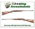 [SOLD] BROWNING 1885 WYOMING CENTENNIAL 25-06 Exc Cond