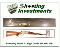 [SOLD] Browning Model 71 Carbine High Grade 348 Win new in box
