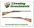 Browning BSS 20 Gauge Sporter 26in barrels