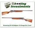 [SOLD] Browning A5 54 Belgium 16 Gauge Exc Cond