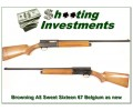 Browning A5 Sweet Sixteen 67 Belgium NEW condition