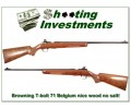 [SOLD] Browning T-Bolt T2 Deluxe XX Wood near new!
