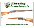 Browning BAR Grade II 71 Belgium Blond as NEW!