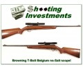 Browning T-Bolt Belgium Deluxe no-Salt and scope