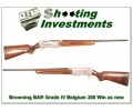 Browning BAR Grade IV 300 Win Mag full Belgium!