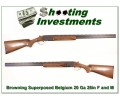 Browning Superposed 20 Gauge 28in F & M Long tang