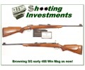 Browning Safari Grade early Belgium 458 Exc Cond!