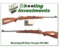 [SOLD] Browning Safari Grade RARE first year Belgium 375 H&H!