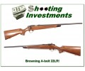 Browning A-Bolt 22 LR Exc Cond!
