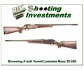Browning A-bolt Laminated Varmint 22-250 with BOSS