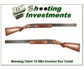 Browning Citori 12 Gauge 28in Invector as new Exc Wood!