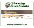 Browning T-bolt 22LR Limited Run Maple Stock NIB