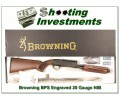 Browning BPS 20 Gauge Engraved NIB!