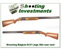 Browning Belgium B-27 Leige 12 Gauge 30in near new!