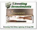 Browning Citori 16 Gauge White Lightning NIB