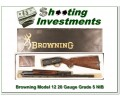 Browning Model 12 High Grade 5 20 XXX NIB