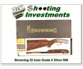 Browning 22 Auto High Grade or Grade 6 NIB