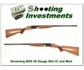 Browning BSS 20 Gauge 1975 26in IC and Mod