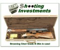 Browning Citori Grade III 20 Gauge as new in case!