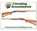 Browning 22 Auto 68 Belgium near new!