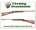 Browning 1885 Traditional Hunter in 45-70 28in Octagonal!