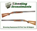 Browning Superposed 49 First Year 20 Gauge!