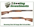 Browning Citori 20 Gauge 1979 28in Barrel, nice wood!