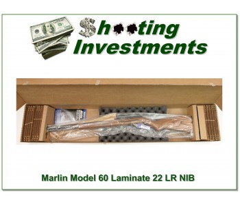 Marlin Model 60 22 Laminate NIB
