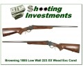 Browning 1885 Low Wall 223 Rem XX Wood!