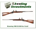 Browning 1885 22-250 28in Octagonal barrel Exc Cond