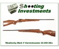[SOLD] Weatherby Mark V Varmintmaster 22-250 26in as new!