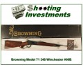 [SOLD] Browning Model 71 348 Winchester ANIB
