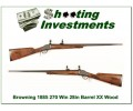 Browning 1885 270 Win 28in Octagonal Exc Cond