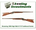 Browning 1885 Traditional Hunter 45-70 28in barrel