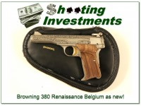 [SOLD] Browning 380 Renaissance 71 Belgium as new!