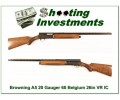 Browning A5 20 Gauge 60 Belgium 26in IC VR