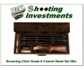 Browning Citori Grade 6 VI rare 4 barrel set as new in case with boxes!