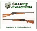 Browning A5 12 Gauge 67 Belgium near new!