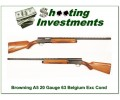 Browning A5 20 Gauge 63 Belgium Blond VR!