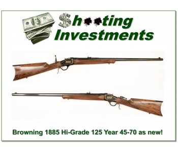 [SOLD] Browning 1885 45-70 125 Year Hi-Grade ANIB
