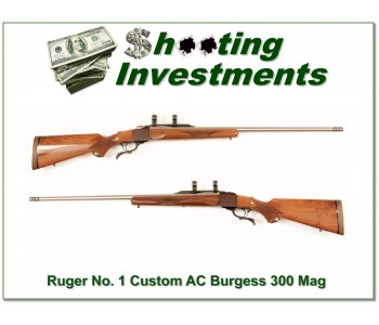 Ruger No.1 AC Burgess Custom 300 Burgess!