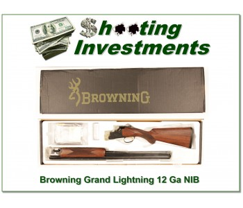 Browning Citori Gran Lightning 12 Gauge 28in NIB!