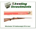 Winchester Model 70 Featherweight 270 Win in box!