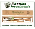 Remington Varmint 243 HB Laminate NIB!