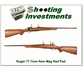 Ruger Model 77 older Red Pad 7mm Rem Mag