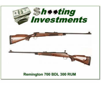 Remington 700 BDL 300 RUM Exc Cond!